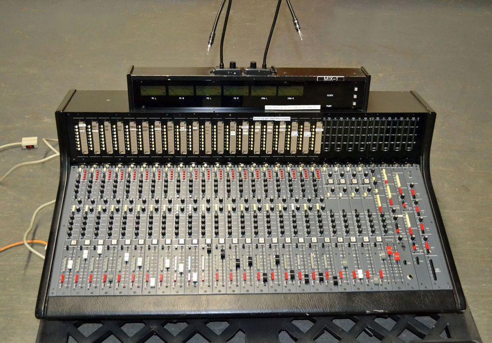 Harrison PRO 950-EX 20-Ch Studio On-Air Broadcast Production
