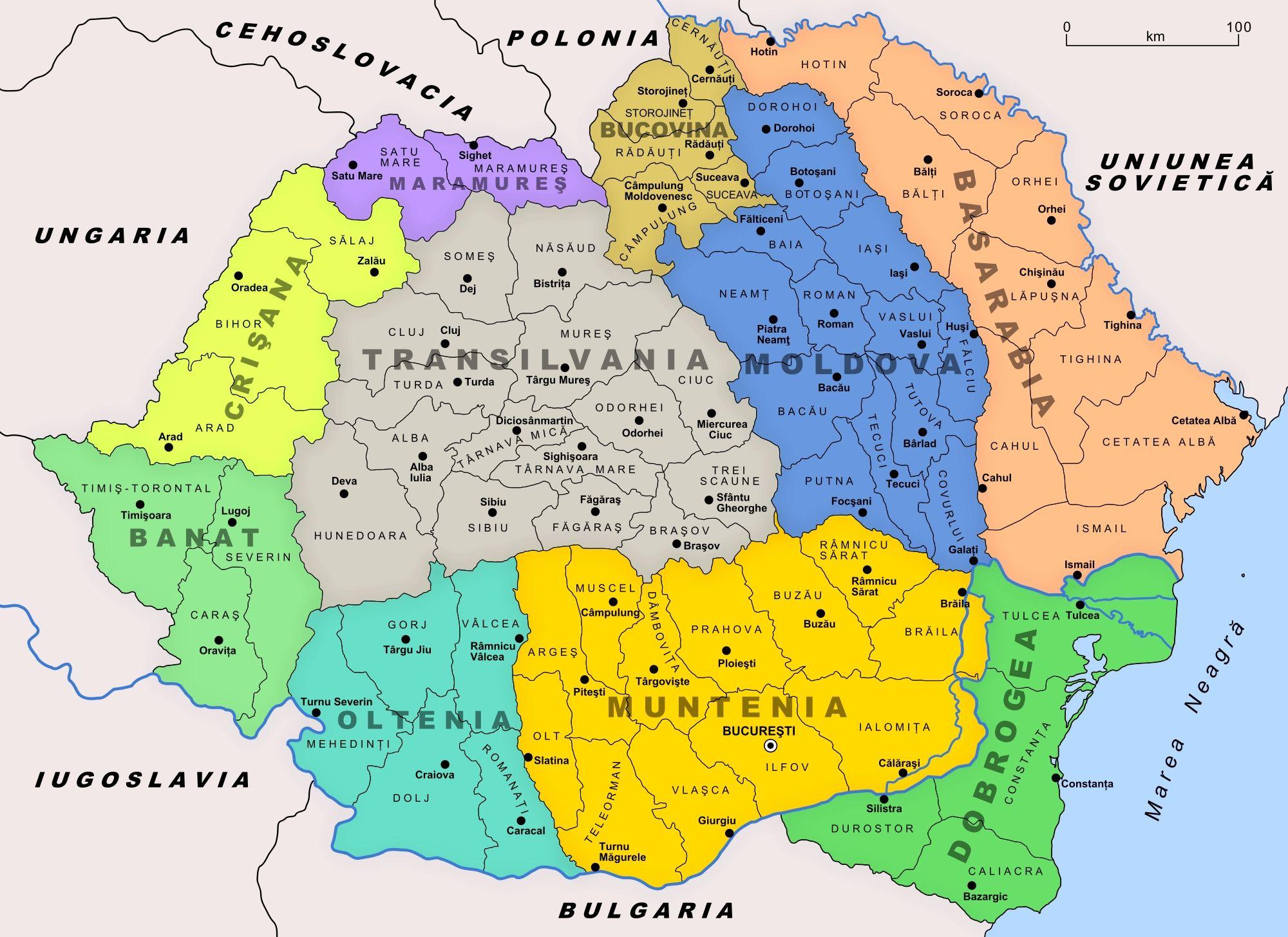 Pin by Romania on Romaniaa   Romania map, Romania, Map