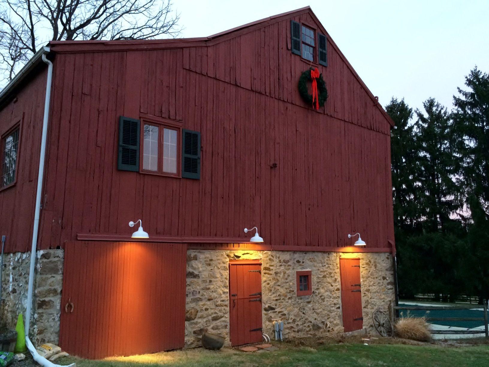 Outdoor Barn Light Classic barn customer classic barn lights for pennsylvania barn workwithnaturefo