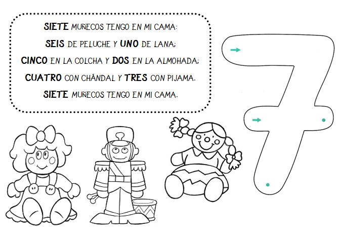 Manipulando Nuestras Matemáticas Poesías Descomposición De Números Letras De Canciones Infantiles Matematicas Infantil Matematicas