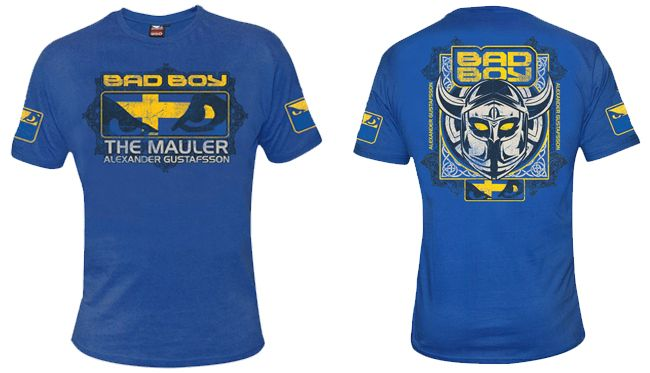 Bad Boy Alex Gustafsson 2013 Walk In Tee