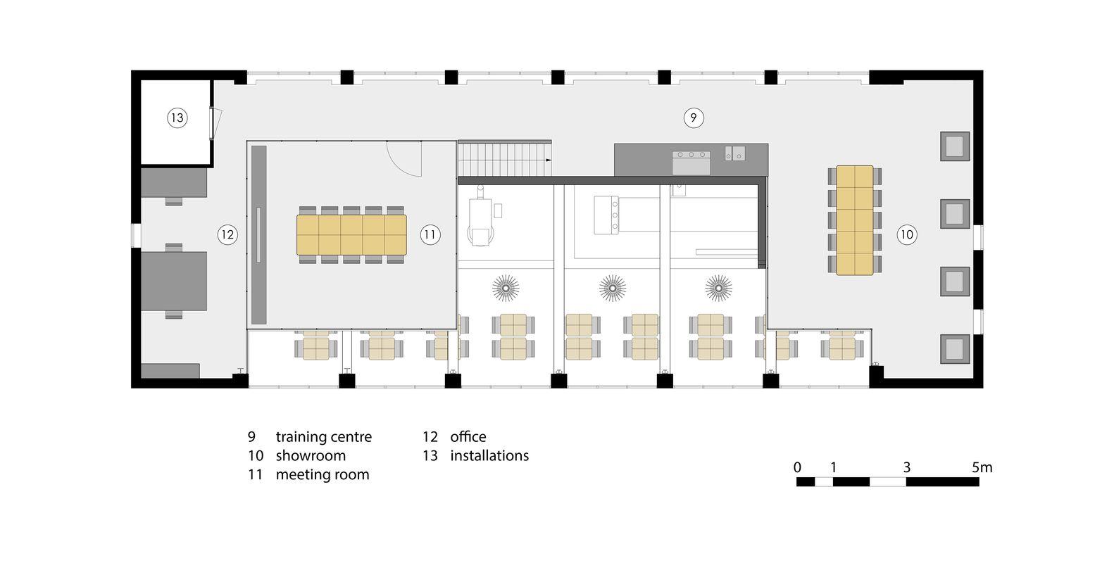 Gallery of Capriole Café / Bureau Fraai 19 Bureau et Café