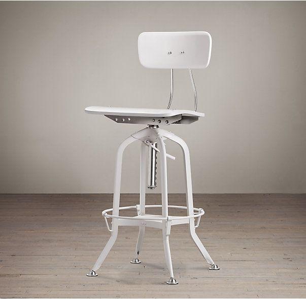 Vintage Toledo Bar Chair | Kitchen | Pinterest