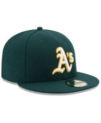 best cheap f5bd1 a62cc New Era Kids  Oakland Athletics Authentic Collection 59FIFTY Cap - Green 6 3  4