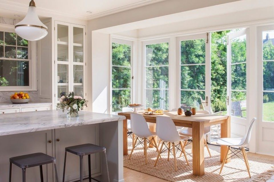 Houzz Photos 79807038 Windsor Square Traditional Farmhouse Dining Room Los Angeles