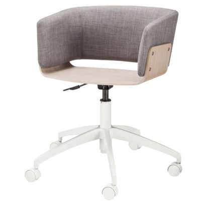 Astounding Too By Blu Dot Hipper Office Chair Upholstered Ash Mi Casa Ncnpc Chair Design For Home Ncnpcorg