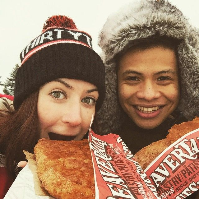 This photo by @katelacelle (via IG) is too sweet! #BeaverTails