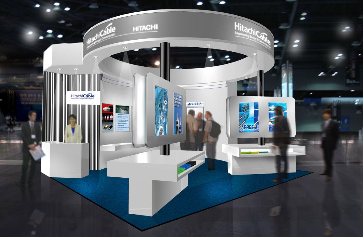 Pro Expo Communication Stands Events : 展示会ブースデザイン fourbeat milestone exhibition