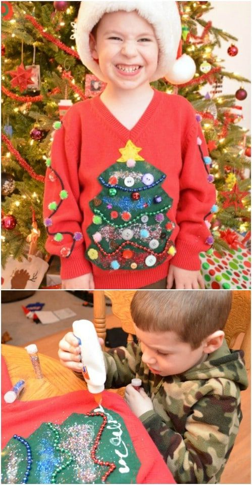 15 Fun Ugly Christmas Sweaters You Can Easily DIY