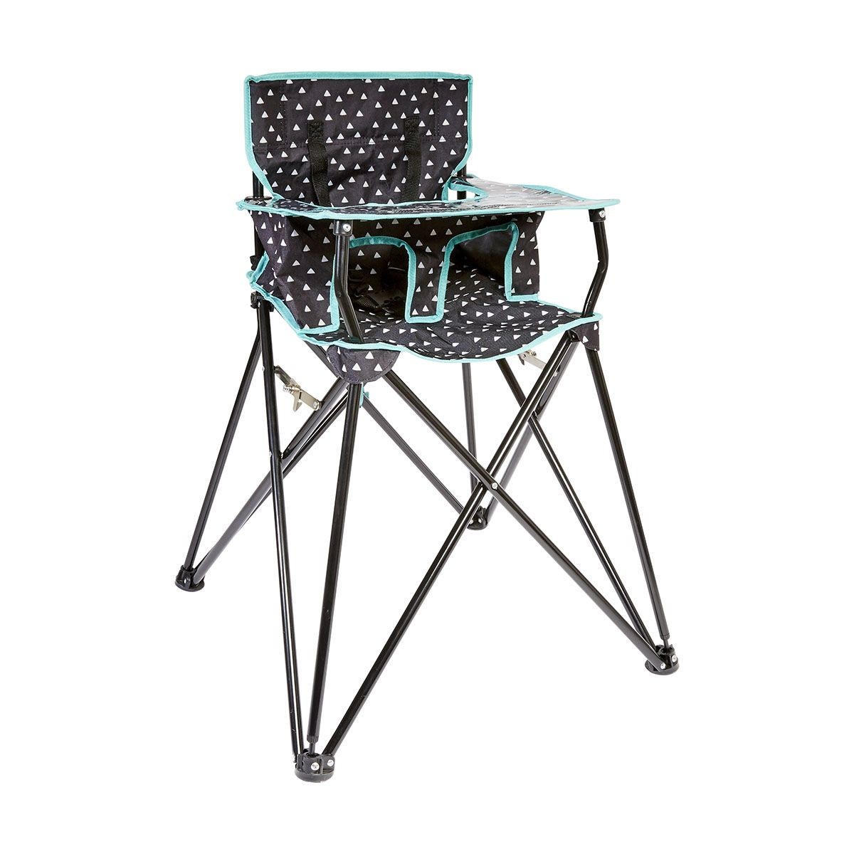 Camping High Folding Chair Kmart Portable High Chairs Chair