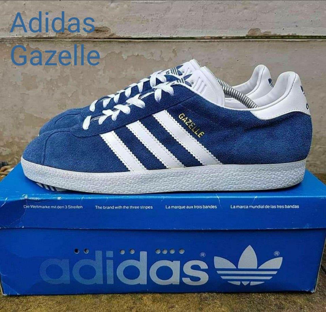 regard détaillé 76fbb 4e5f2 Marine blue Adidas Gazelle from 1995 | Adidas Originals ...