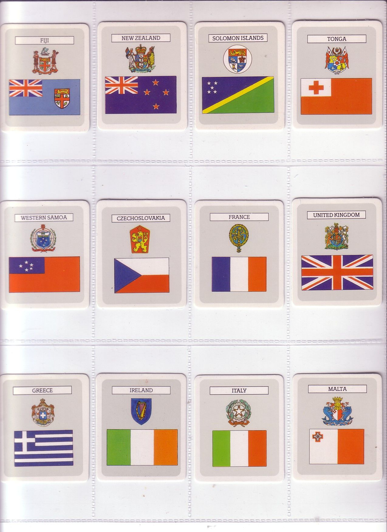 Lot 242 – Lipton Australia Set Flags and – Postal Auction No. 192 31 May 2014