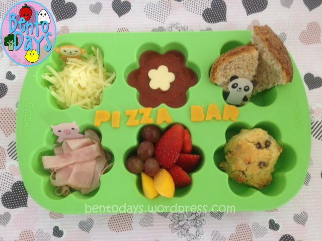fast simple lunch idea for kids fun diy pizza deconstructed pizza