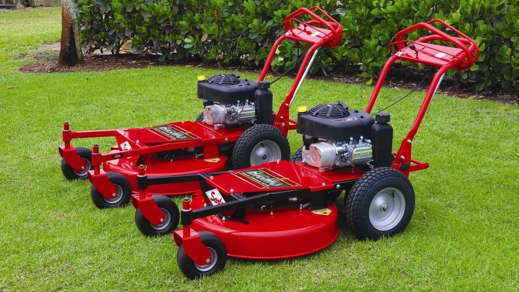 Sarlo Launches Bigmo Walk Behind Mower As One Of A Kind Walk Behind Mower Mower Walk Behind