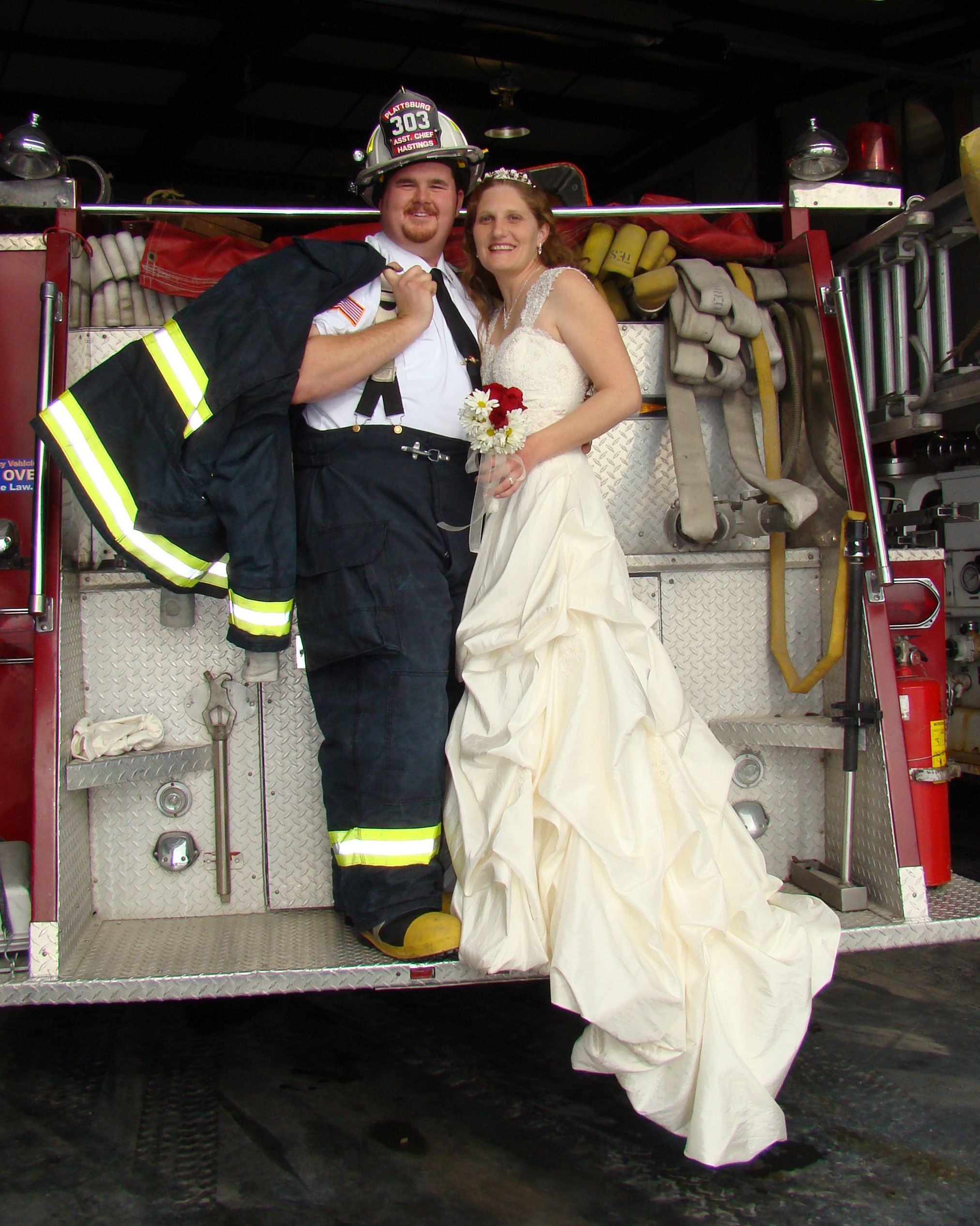 Firefighter Wedding Hastings