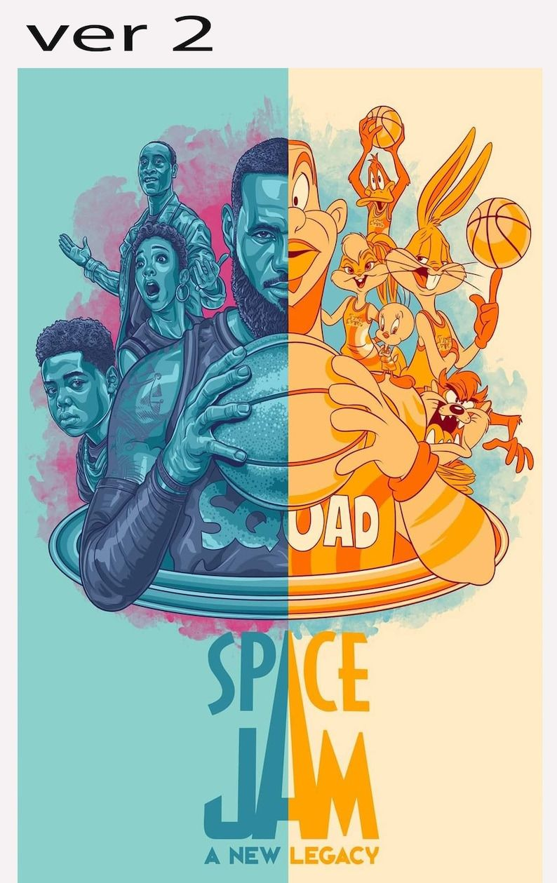 Space Jam Legacy poster