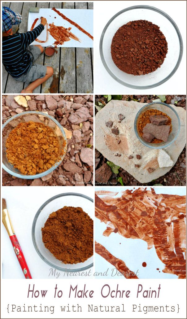 How To Make Natural Pigments From Plants
