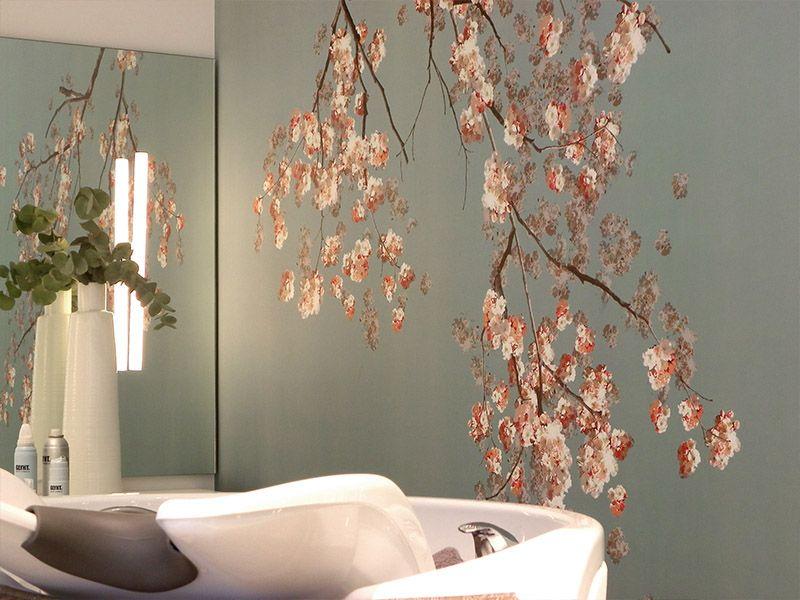Bildtapeten Kirschzweige #tapete #wallpaper Gaedkes Tapeten - tapeten für die küche