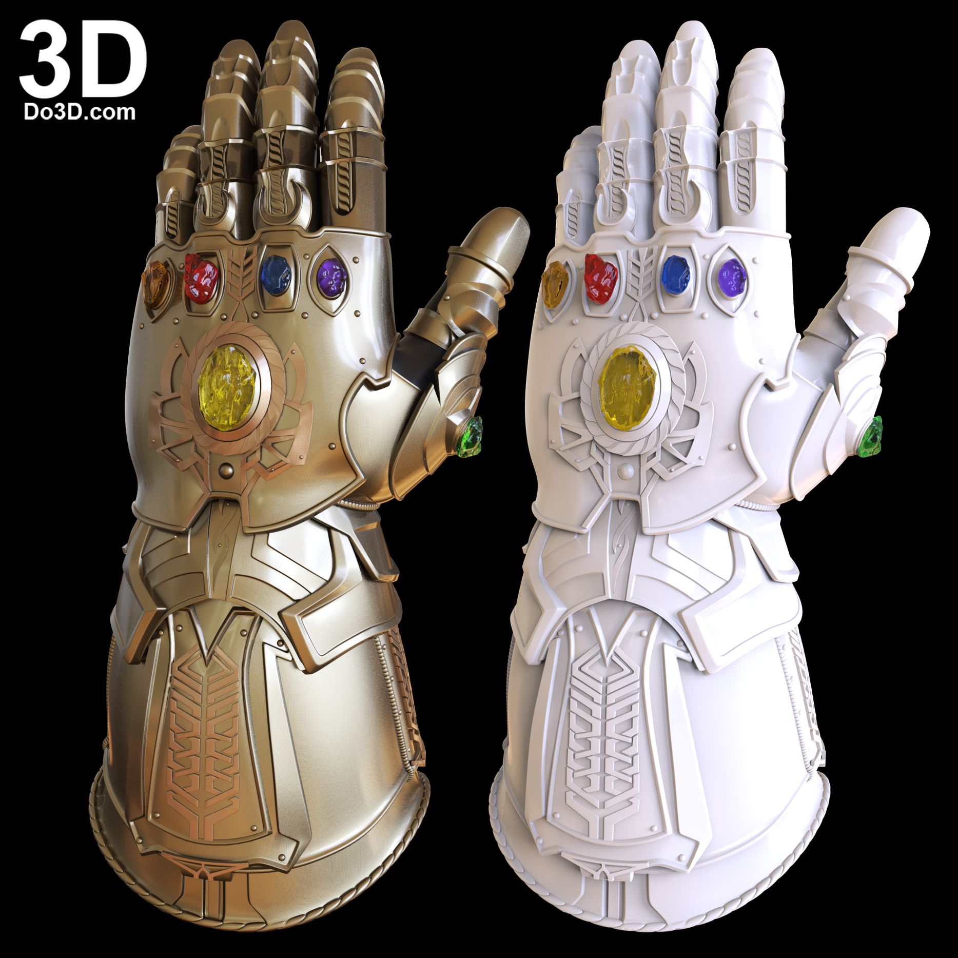 3d printable model thanos infinity gauntlet forearm glove d23
