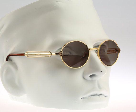Police 2282   NOS   90S   Vintage sunglasses   Round designer eyewear. 71fcdb87b7