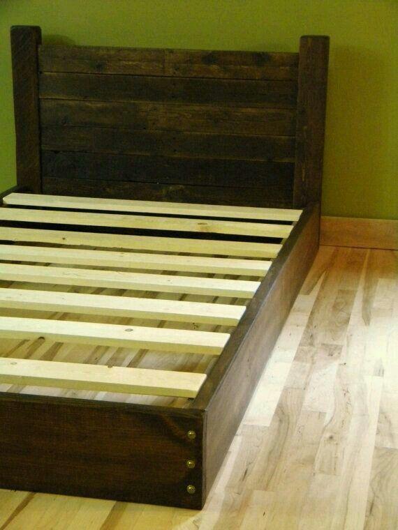 Cute Stuff Wood Bed Frame Diy Diy Bed Frame Diy Platform Bed