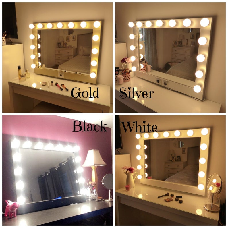 SUPER sale XL Hollywood lighted vanity mirrormakeup