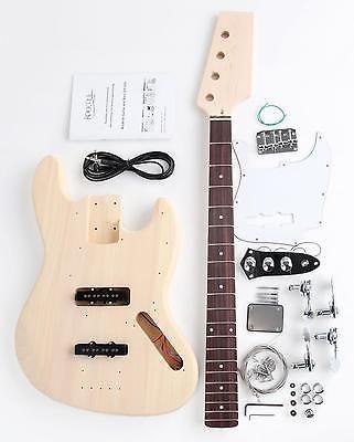 Diy electric bass guitar kit self build your own guitar pack do diy electric bass guitar kit self build your own guitar pack do solutioingenieria Choice Image