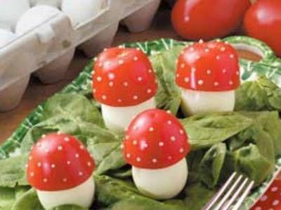 Fairy-Tale Mushrooms