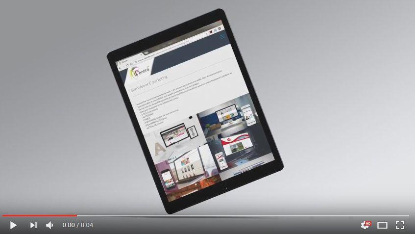IDentité : Site responsive dynamique dont l'affichage s'adapte à tous les écrans.