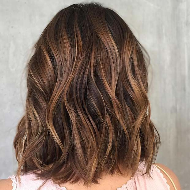 23 Stylish Lob Hairstyles for Fall and Winter | St