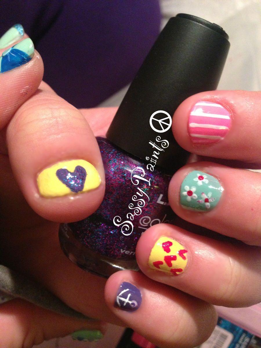 #short #nails #nailart