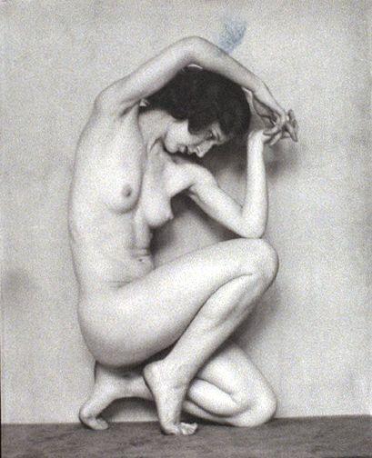 Nude woman.