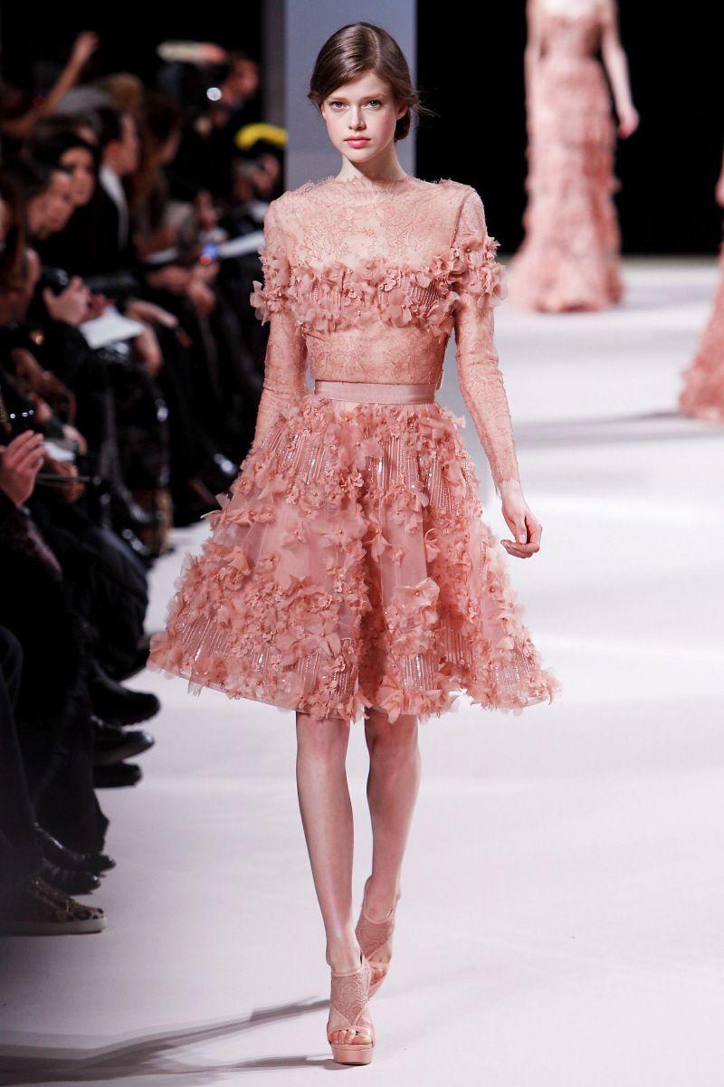 elie saab dresses | Elie Saab\'s Spring/Summer line: Who will be ...
