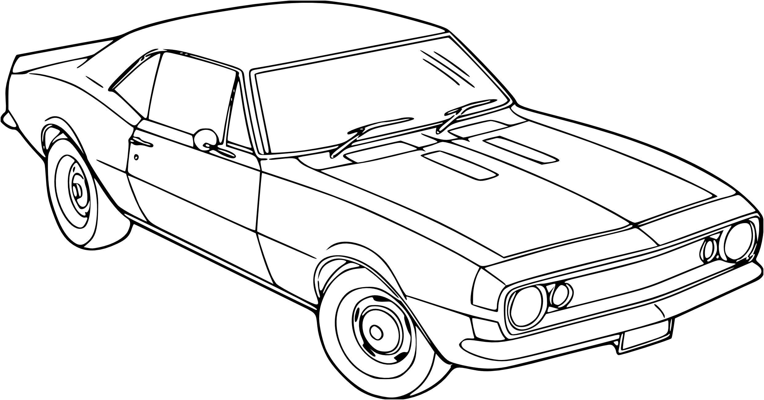 coloriage voiture chevrolet in 2020