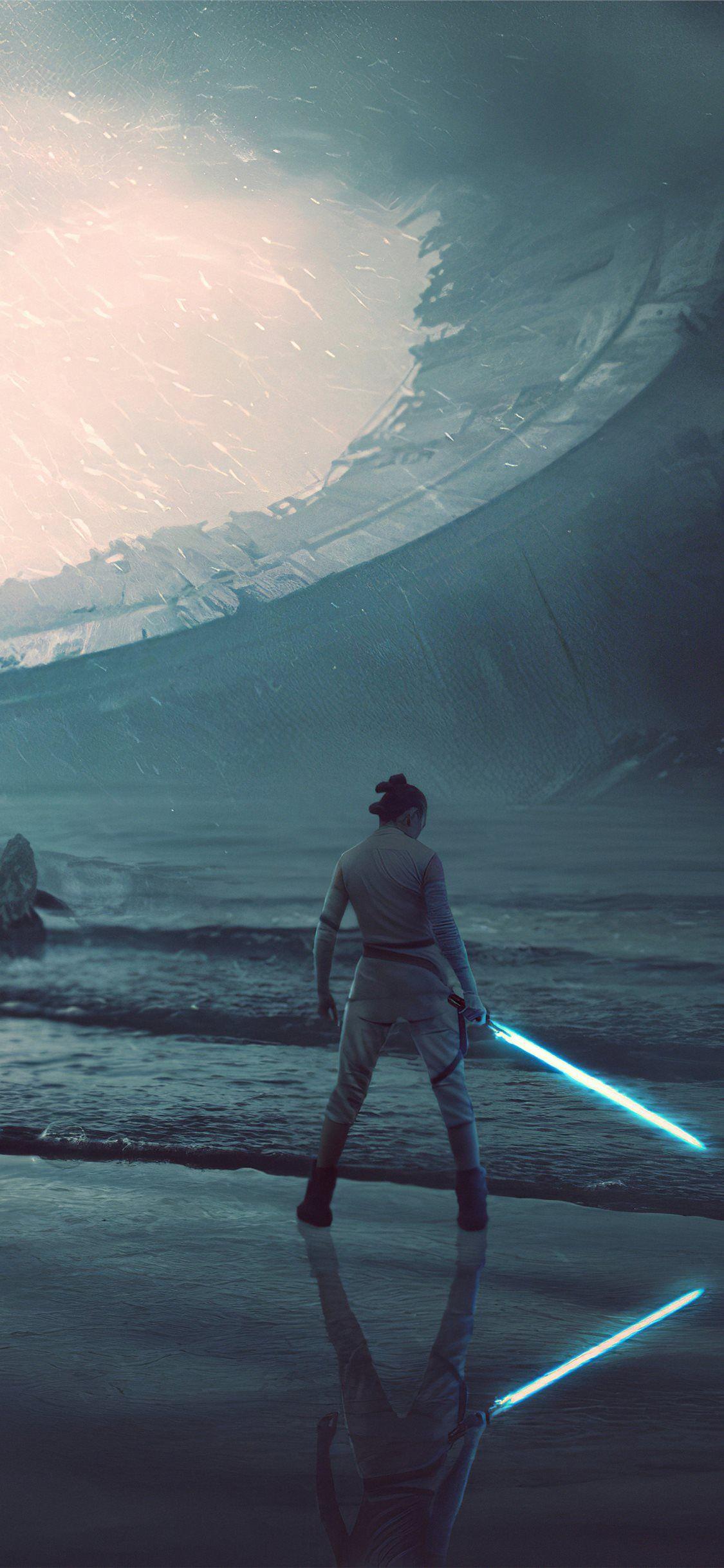Rey Rise Of Skywalker 4k Star Wars The Rise Of Skywalker Rey Movies 2019 Movies Star Wars Star Wars Background Rey Rise Of Skywalker Rey Star Wars