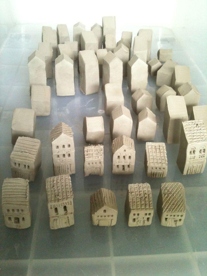 How To Make: Tiny Houses (Part 2) #slabpottery