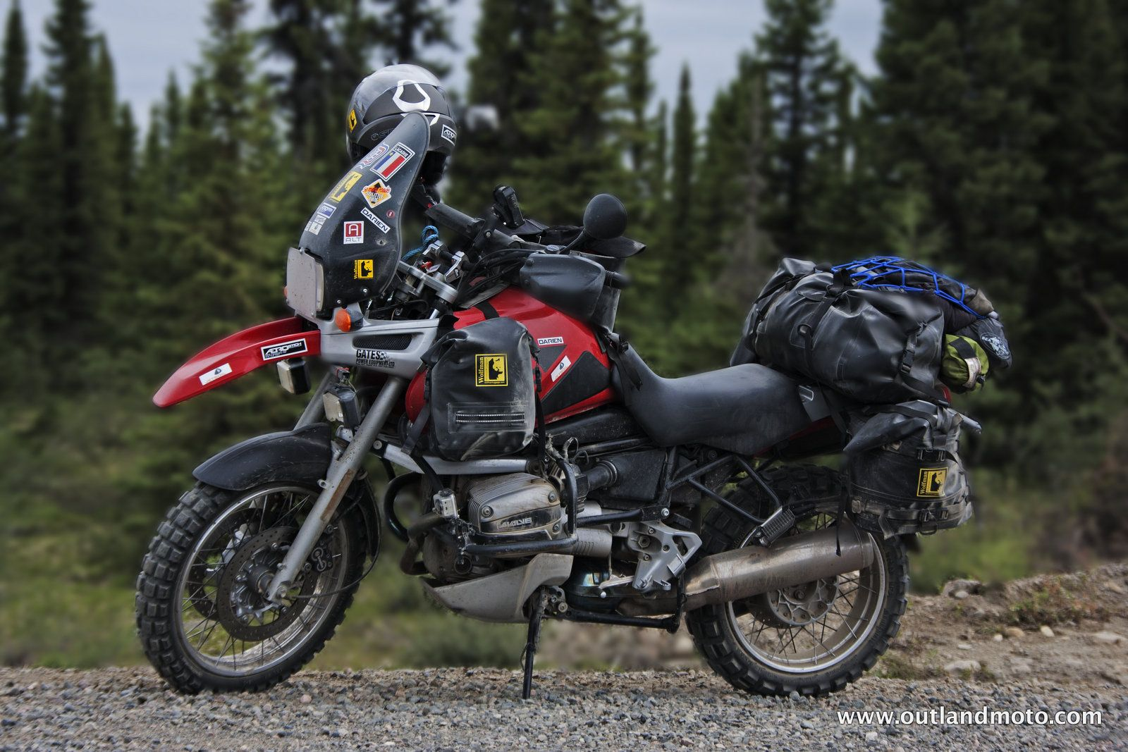 BMW R1100GS on the Trans Labrador Highway - Canada - http://www.outlandmoto.com