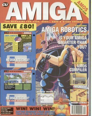 CU Amiga Issue 38   Video Game Magazines   Video game