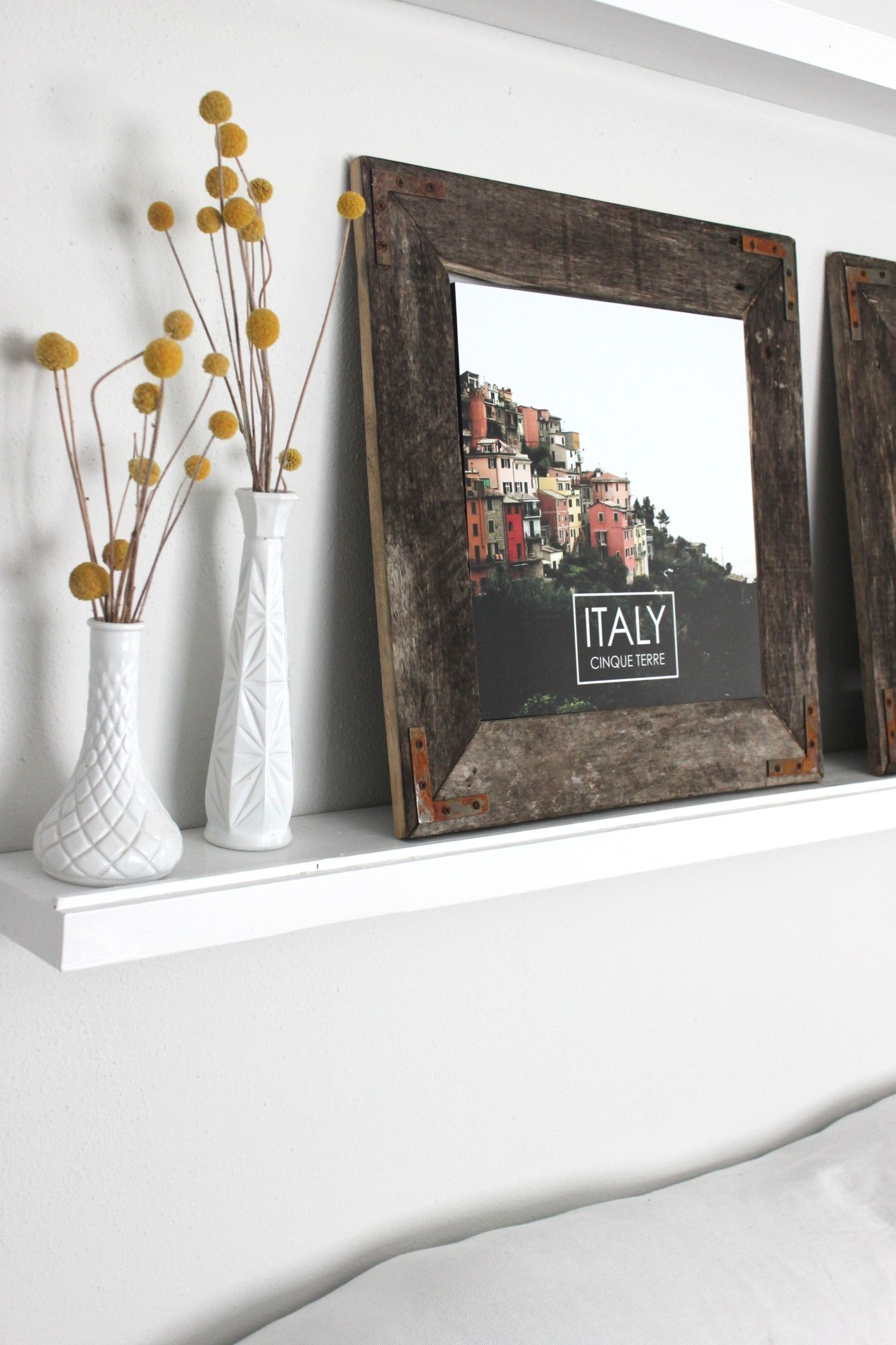 DIY Rustic Industrial Picture Frame by The Winthrop Chronicles ...