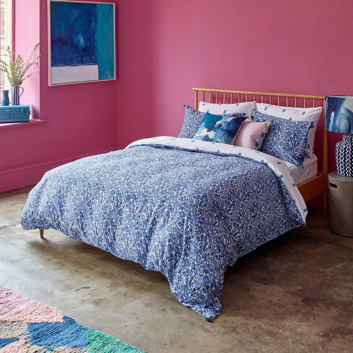 f75adafa3b7e Shop this Bluebellgray Wee Pomegranate Duvet Cover & Pillowcase Set for a  smaller scale version of