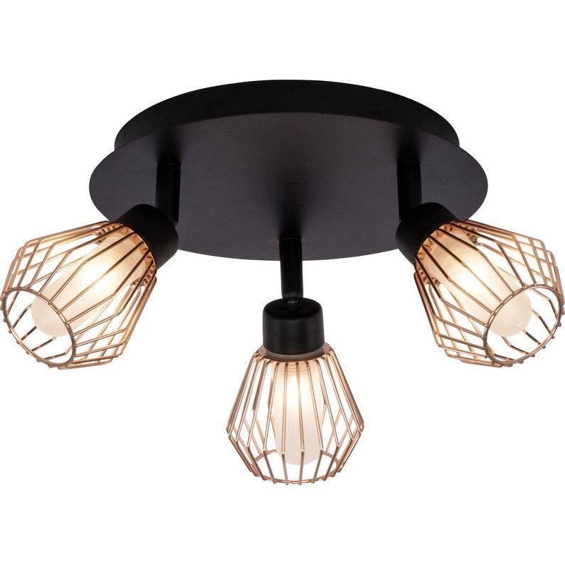 Plafonnier 3 Spots Keila Sans Ampoule 3 G9 Leroy Merlin Ceiling Lights Bedroom Ceiling Light Ceiling Spotlights