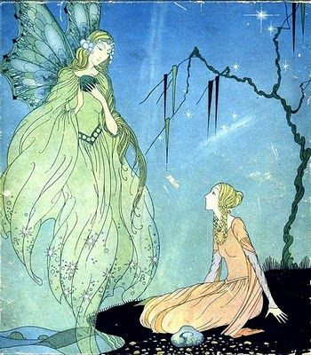 ≍ Nature's Fairy Nymphs ≍ magical elves, sprites, pixies and winged woodland faeries - Virginia Frances Sterrett
