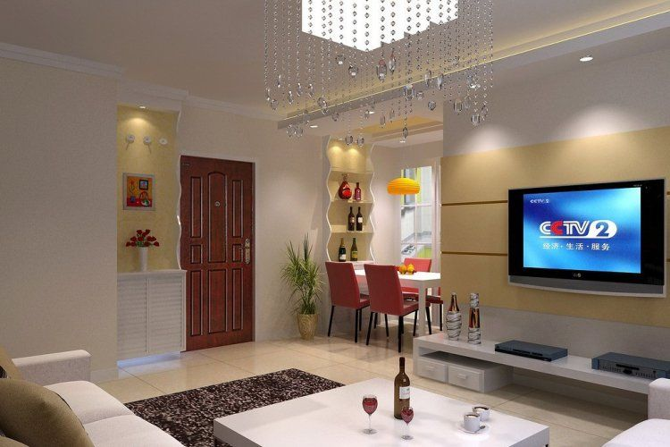 Interior design living room download d house simple for Simple house interior design