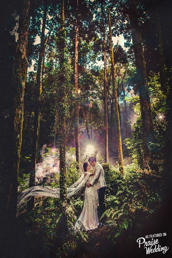 Romantic fairytale e-session