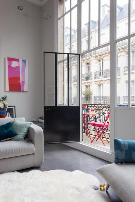 oh wow, what a balcony door and view Salle à manger Pinterest