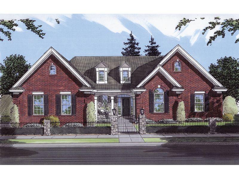 Regina Ranch Home  from houseplansandmore.com