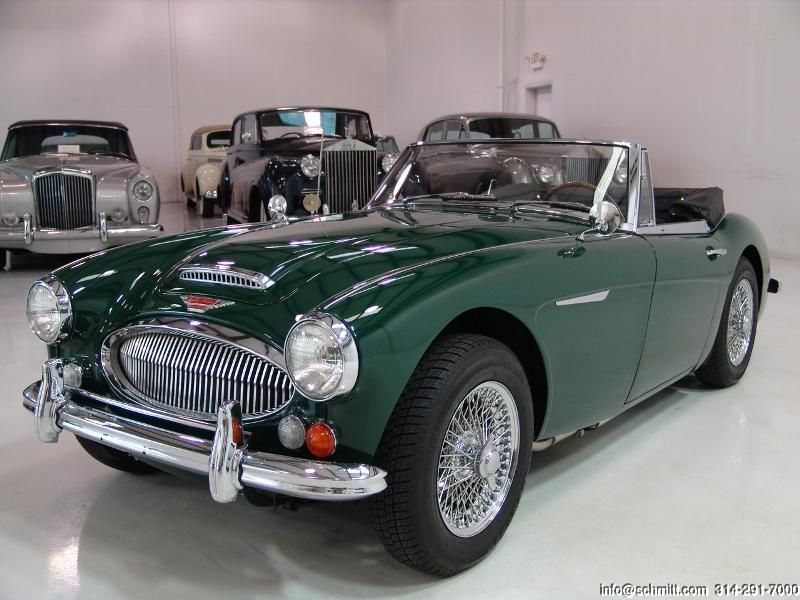 DANIEL SCHMITT & CO CLASSIC CAR GALLERY PRESENTS: 1967 AUSTIN-HEALEY ...