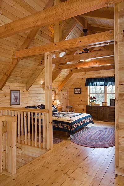 8x8 Bedroom Design: Oakbrook Plan 8x8 D Log Home In 2020