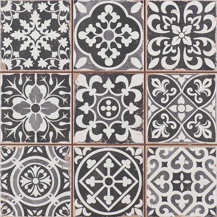 Peronda Fs Za Clic Vintage Spanish Tile They Are The Perfect Tiles In Hallway Very Easy To Lay Patterns Mixed And Fool Many Into