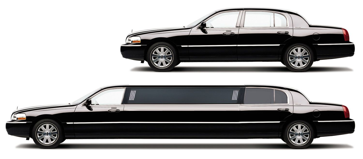 Lincoln Town Car Limo I noticed such a hip limousine